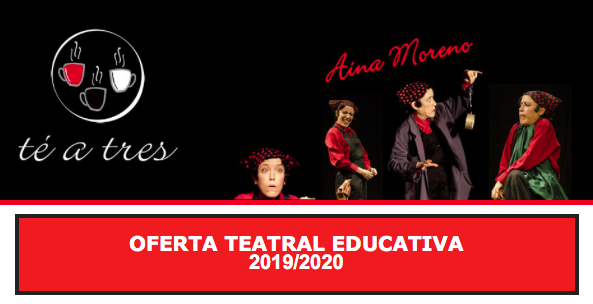 Oferta teatral educativa 2019/2020